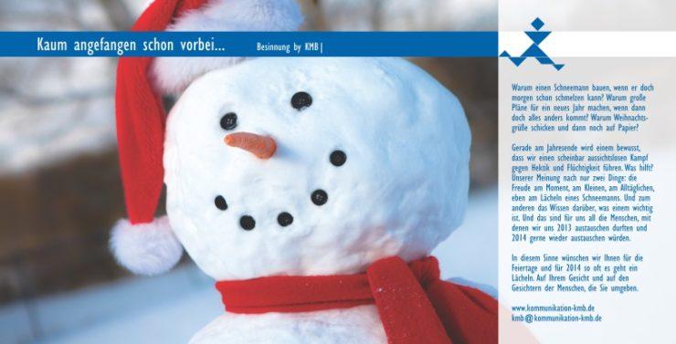 KMB| wünscht fröhliche Weihnachten