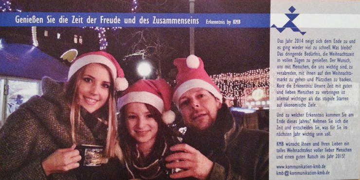 KMB| Weihnachtskarte 2014