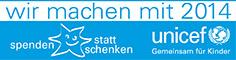 UNICEF Spenden statt Schenken 2014
