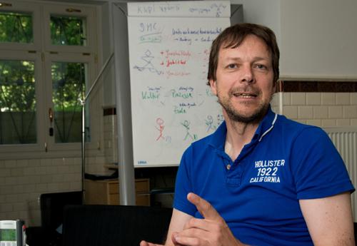 Dr. Klaus M. Bernsau im Gespräch mit Markus Stifter von der PIRSCH