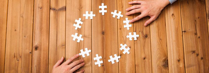 Ganzheitlich: Die Bedeutungen in einer Organisation entstehen aus der Summe aller Einzeläußerungen