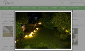 Ganz wichtig bei einer Website: Bilder, Bilder, Bilder!