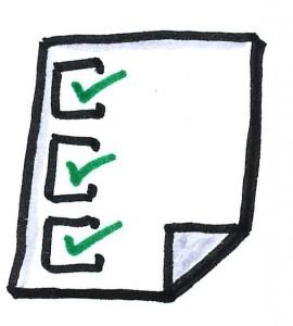 Eine Checkliste ist grundlegend für das Verständnis der Probleme. (Photo by Oliver Tacke / flickr.com / creative commons)