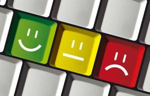 Positiv, neutral oder negativ bewerten