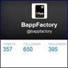 Twitter-Account von BAppFactory