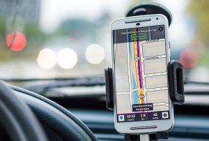 Navigation im Smartphone