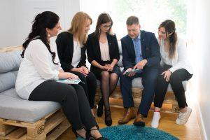 Praktikum bei KMB| heißt Teamarbeit