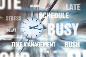 Keine Zeit, Stress, Überarbeitung