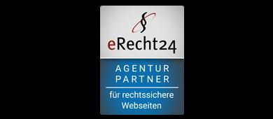 eRecht24 Agenturpartner für rechtssichere Webseiten