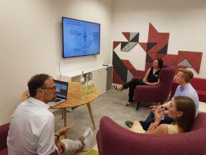 Netzwerken bei der Digitaliosierungs-Werkstatt Rhein-Main
