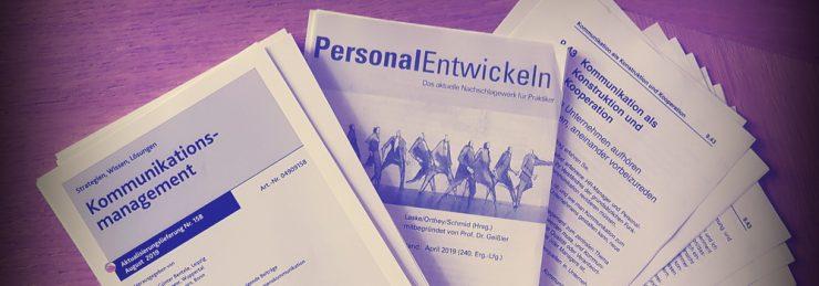 KMB| Fachartikel in PersonalEntwickeln und Kommunikationsmanagement