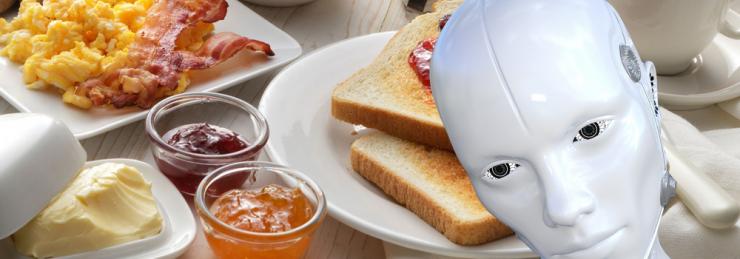 Digitalisierungs-Frühstück für Handwerker
