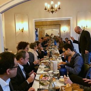 Erstes XING Ambassador Breakfast mit Ingamr Jung (MdB)