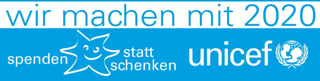 UNICEF Spenden statt Schenken